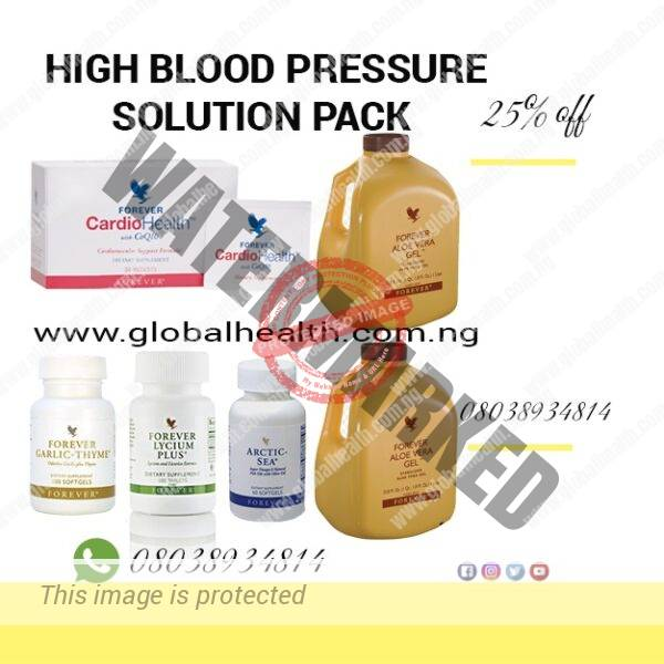 SOLUTION TO HIGH BLOOD PRESSURE
